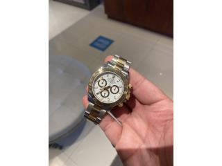 Rolex Daytona Two tones White dial New, CHRONO - SHOP Puerto Rico