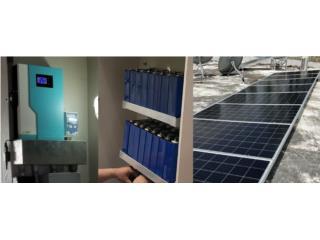 10K litio, 9 panels 380, Inverter 5.5K…$6999, Perez Solar Puerto Rico