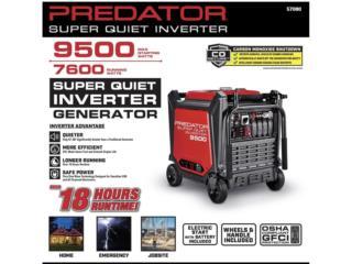 Inverter Predator 9500 watts , WAREHOUSE SUPPLY AND MORE Puerto Rico