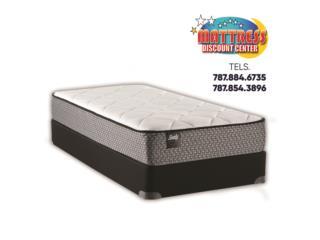 Set de mattress Sealy mod. Calhoun II Soft TT, Mattress Discount Center Puerto Rico