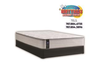 Set de mattress Sealy, mod. Garnier II ET Med, Mattress Discount Center Puerto Rico
