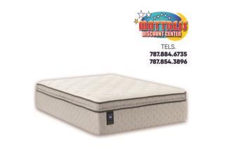 Set de mattress Sealy, mod. Deaton II Soft ET, Mattress Discount Center Puerto Rico