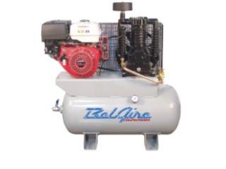 13 HP 30 Gallon Honda Gas Engine Air Compress, ECONO TOOLS Puerto Rico