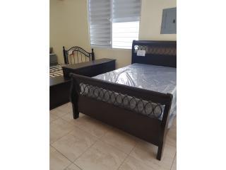 Juego de Cuarto Modelo Paris, Dream Beds  Inc. Puerto Rico