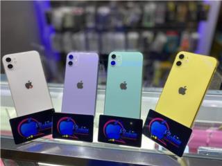 iPhone 11 64gb unlock 3 meses garantía , ELOHIM CELLULAR & COMUNICATION Puerto Rico