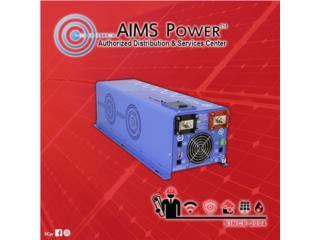 Inversor AimsPower 4,000w 48v 120/240, PowerComm, Inc 7878983434 Puerto Rico