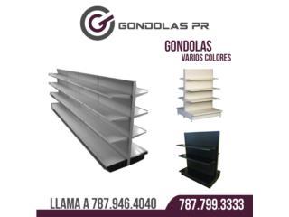 VENTA DE GÓNDOLAS  787 946-4040 / 787 799-333, Gondolas PR Puerto Rico