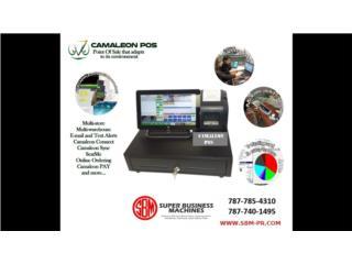 Camaleon POS para Colmados, Super Business Machines Puerto Rico