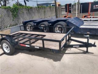 TRAILER ANDERSON 6x12 EJE SENCILLO, Reliable Equipment Corp. Puerto Rico