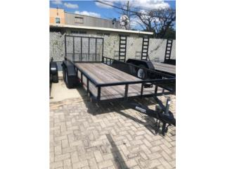 TRAILER ANDERSON 6x12 DOBLE EJE, Reliable Equipment Corp. Puerto Rico