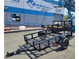 TRAILER 5x8 ANDERSON MULTIUSOS, Reliable Equipment Corp. Puerto Rico