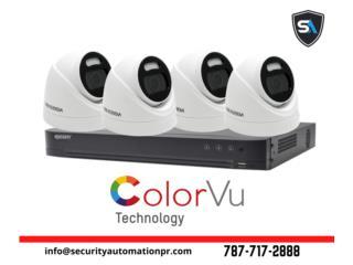 Cámaras Color Vu 24/7, Security & Automation  Puerto Rico