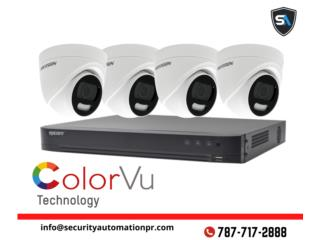 Camaras con Vision a color de Noche, Security & Automation  Puerto Rico