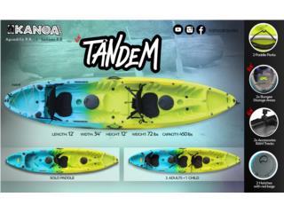 PRE VENTA KANOA Tandem kayak , KANOA kayaks Puerto Rico