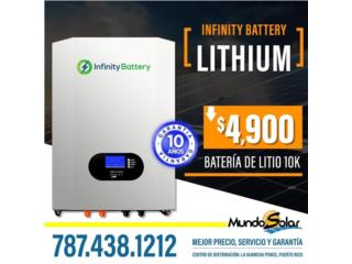 Infinity Battery Lithium 10k, Mundo Solar Puerto Rico