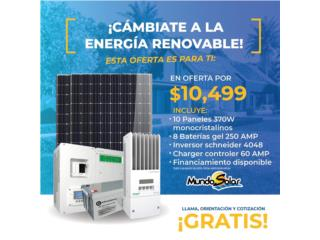 SISTEMA SCHNEIDER INSTALADO, Mundo Solar Puerto Rico