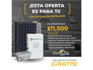 SISTEMA 8K INSTALADO, Mundo Solar Puerto Rico