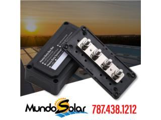 Busbar 300 amp (negro), Mundo Solar Puerto Rico