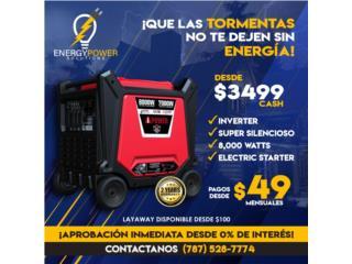 El inverter más poderoso 8000 Watts., Energy Powers Solutions Puerto Rico