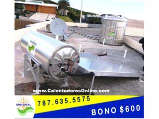 COMBO TANQUE DE AGUA Y CALENTADOR UNIVERSAL, OFICINA_CENTRAL  VENTAS-SERVICIO (787) 635-5575 Puerto Rico