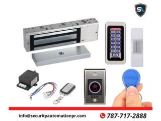 Cerraduras Magneticas , Security & Automation  Puerto Rico