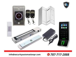 Magnetos (Timbre) conlector de huellas, Security & Automation  Puerto Rico