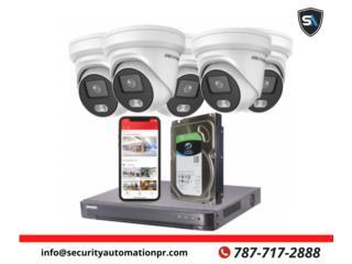 camaras de seguridad para hogares, Security & Automation  Puerto Rico