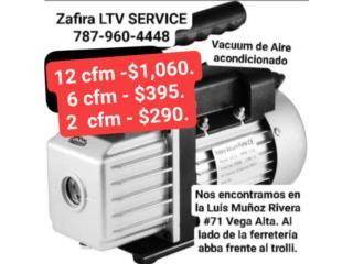 Vacuum/aire acondicionado CFM 2. 6. 12., Zafira LTV Service Corp. Puerto Rico