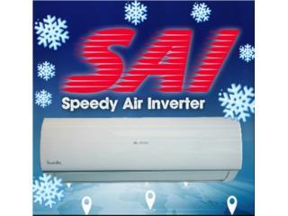 Airmax 12,000 Seer 20 con Wifi Desde $580, Speedy Air Conditioning Servic Puerto Rico