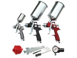 41 Piece Spray Gun Set, Vulcan Tools Caibbean Inc. Puerto Rico