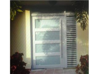 San Juan Puerto Rico Herramientas, Puertas de seguridad con ventanas integradas