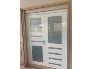 Puertas dobles de seguridad 60
