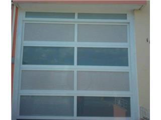 Puertas de seguridad de Garage, INFINITY WINDOWS & DOORS  Puerto Rico