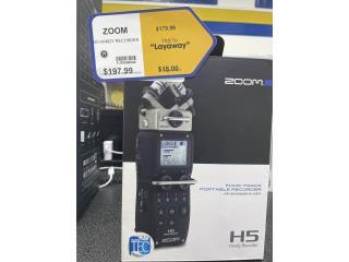 H5 Handy Recorder ZOOM, LA FAMILIA CASA DE EMPEÑO FAJA Puerto Rico