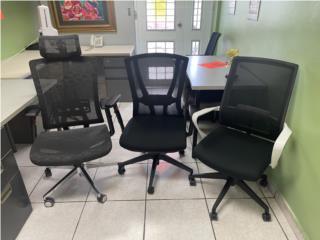 VARIEDAD SILLAS SECRETARIALES USADAS Y NUEVAS, AMBITEK FURNITURE Puerto Rico