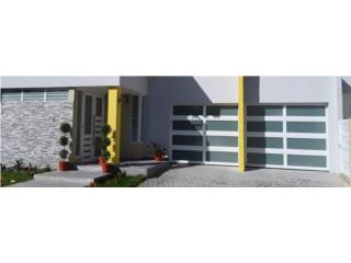 Bayamón Puerto Rico Energia Renovable Solar, Puerta de Garage Full Glass 96