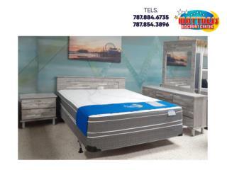 Juego de Cuarto en PVC Modelo Italiano $899, Mattress Discount Center Puerto Rico