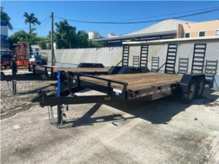 TRAILER  7x18 DOBLE EJE, Reliable Equipment Corp. Puerto Rico