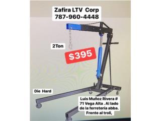 Gato de Motores  $395    2Ton  Vega Alta, Zafira LTV Service Corp. Puerto Rico