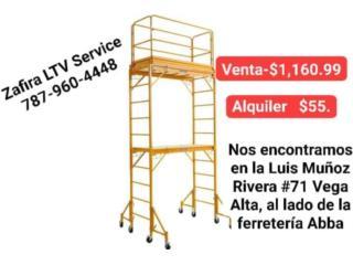 Andamio  $1,160.99, Zafira LTV Service Corp. Puerto Rico
