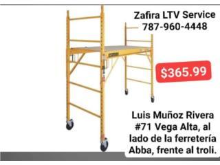 Andamios $365.99 Vega Alta, Zafira LTV Service Corp. Puerto Rico