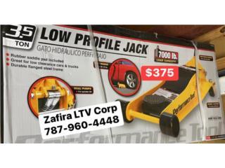 Gato de Carros (Low Profile 3.5Ton), Zafira LTV Service Corp. Puerto Rico
