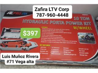 Hidraulic Porta Pawer kits 10ton  $397, Zafira LTV Service Corp. Puerto Rico