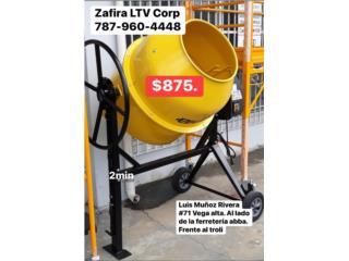 Mezcladora de cemento 2mini 1/2 electric $875, Zafira LTV Service Corp. Puerto Rico