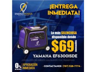 La más silenciosa inverter 6300 Yamaha., Energy Powers Solutions Puerto Rico