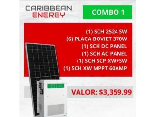 Caribbean Energy Sistema Solar 2K, CARIBBEAN ENERGY DISTRIBUTOR Puerto Rico