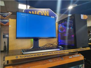 Gaming Desktop + Monitor 27