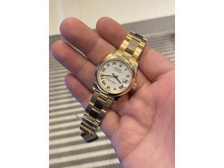 Rolex Datejust 31mm Ladies 18k Yellow Gold, CHRONO - SHOP Puerto Rico