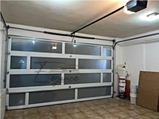 PUERTA DE GARAJE DOBLE, Elegance Garage Door's y Mas. Puerto Rico