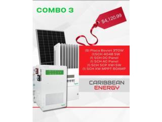 Caribbean Energy, Sistema Energia Solar, CARIBBEAN ENERGY DISTRIBUTOR Puerto Rico